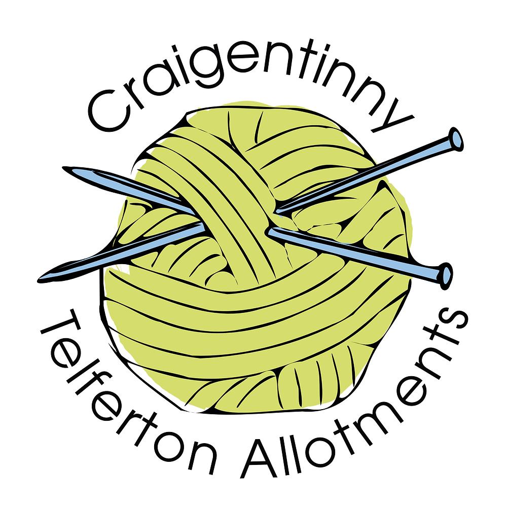 Craigentinny Telferton Allotments Yarn Bomb