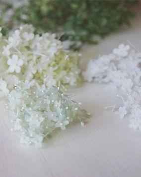 fleur en papier miniature