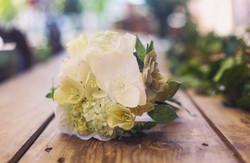 Bouquet de mariée papier