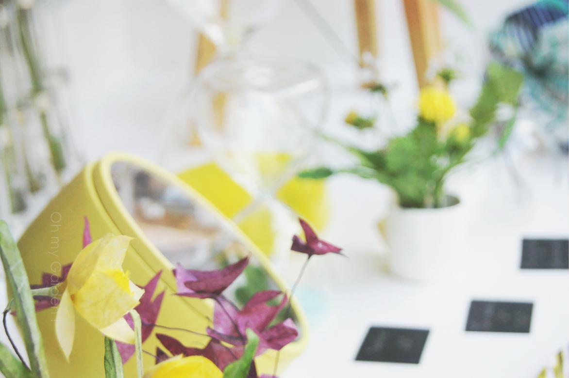 Fleurs à mixer