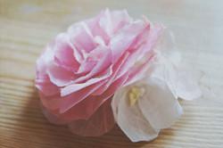Barrette pour mariée fleurs