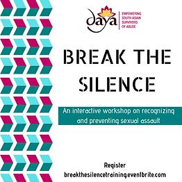 http://breakthesilencetraining.eventbrite.com