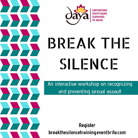 http://breakthesilencetraining.eventbrite.com
