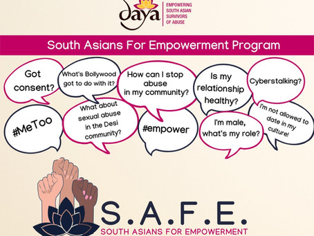 Why I Joined the Daya SAFE Program