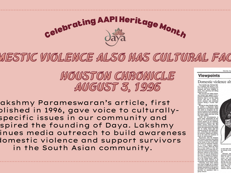 Domestic violence also has cultural factor