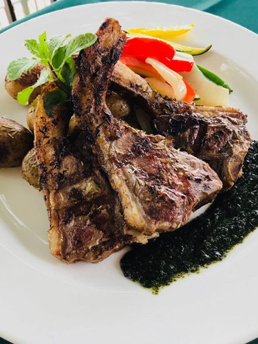 Broiled Lamb Chop