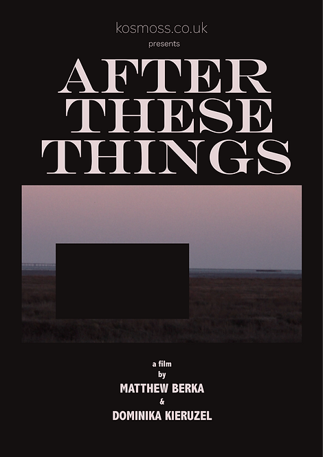 After These Things | Poster