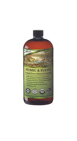 Humic & Fulvic Liquid Trace Mineral Complex - 32 oz.