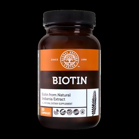 Organic Biotin From Sesbania Extract 60 capsules