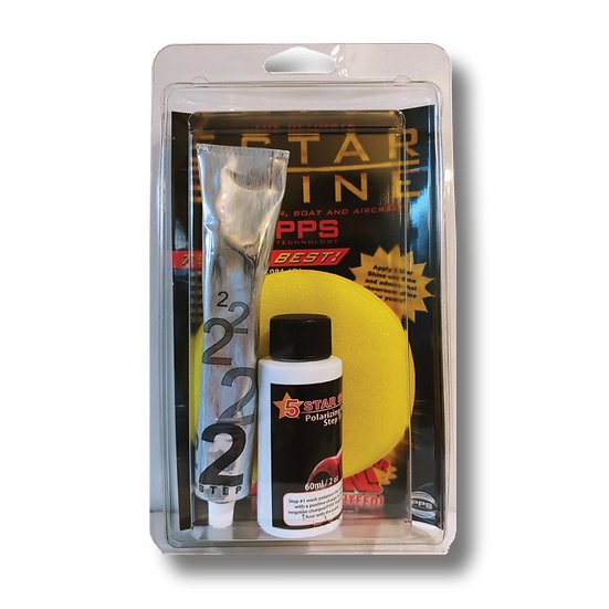 5 STAR SHINE TOTAL PROTECTION KIT: STEP ONE AND TWO