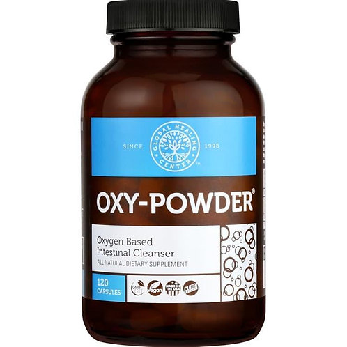 Oxy-Powder® Safe & Natural Colon Cleanser 120 Capsules