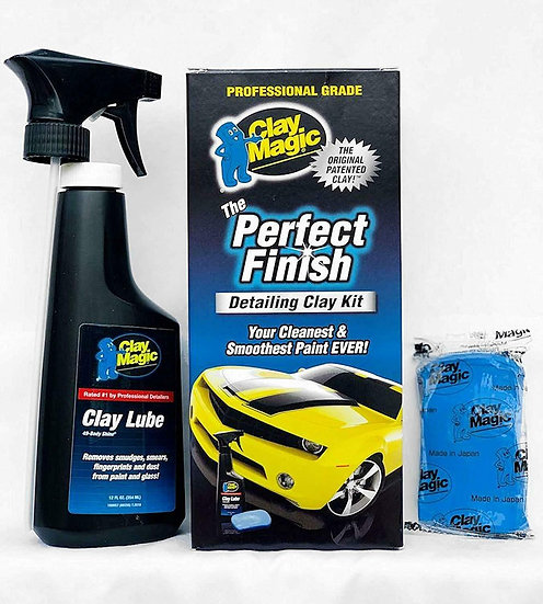 Clay Magic and Perfect Finish Paint Restorer
