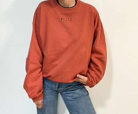 Sweater Koralle - Squash