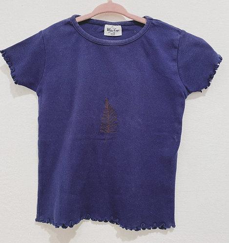 Vintage Shirt Leaves- Größe 128