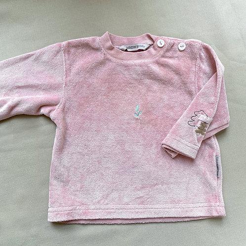 Handgefärbter Sweater Avocado • Größe 62
