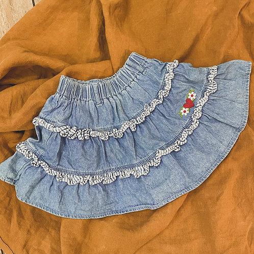 Jeans Rock aus den USA • Größe 92