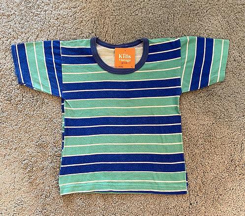 70er Streifen Shirt • Gr. 92/98