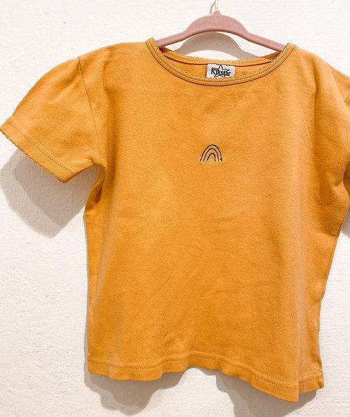 Vintage Shirt Regenbogen- Größe 128