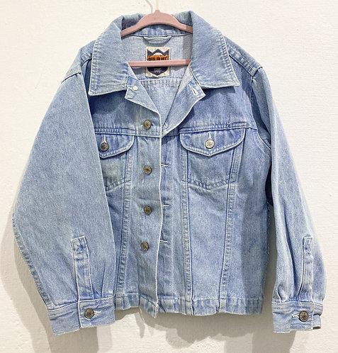 Jeansjacke mit Stickerei • Größe 116