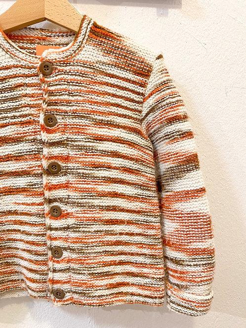 Handmade Woll Cardigan • Größe 110