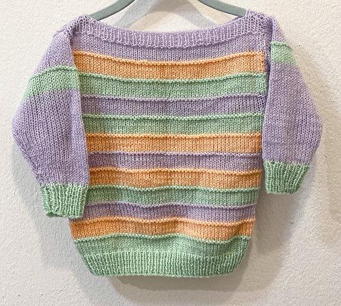 Handmade Wollpullover• Größe 80