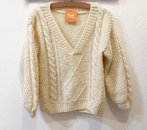 Handmade Wollpull • Größe 116