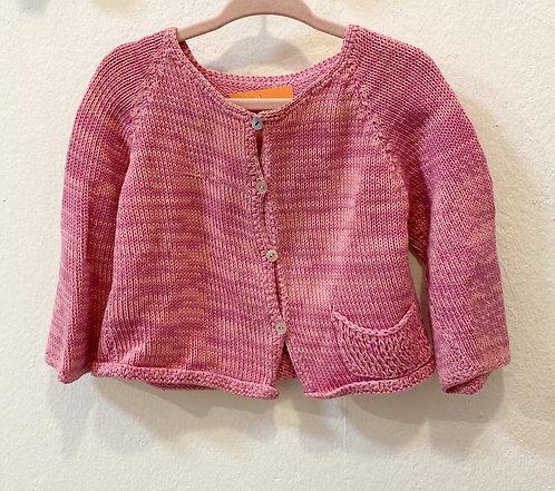 Handmade Wollcardigan• Größe 68
