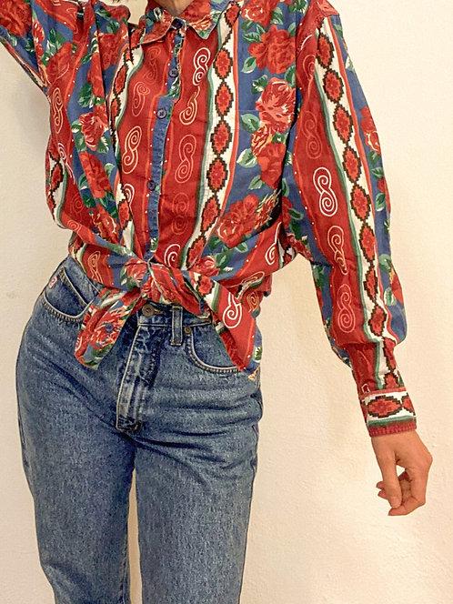 Azteken - Rosen Hemd
