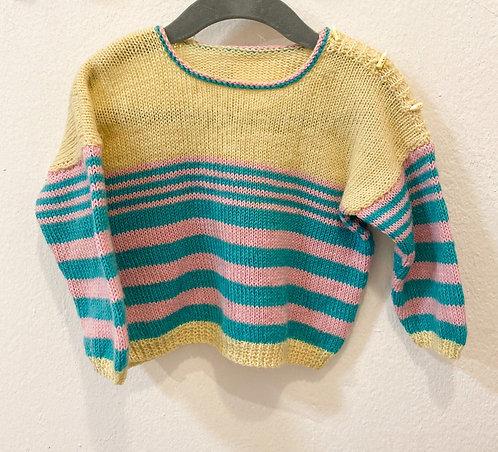 Handmade Wollpullover• Größe 80/86