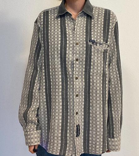 Krepp Baumwollhemd
