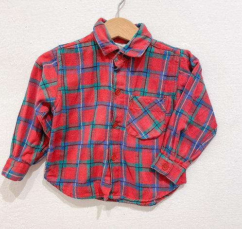 Holzfäller Hemd - Größe 86