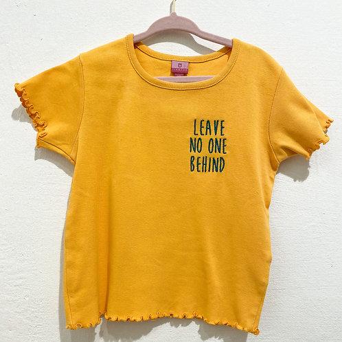 Kids - Leave no one behind Shirt • Größe 116