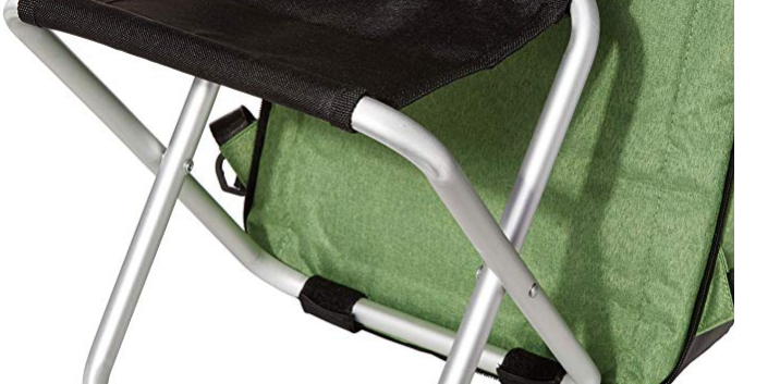 "Easy Remove chair <3 seconds  A perfect companion for Travel 1. Ultra Light 2.0 pound 2. Easily removable 300 g aluminum chair 3.Designer USB and Headphone jack included 4.Handsfree Umbrella Holder for hook the umbrella and walk handsfree multitasking. 5.Ultimate design and high quality material for durability.  6.Many Hidden compartment's and Pocket's with Keyfab and other utility pockets. 7.PU Stand for firm grip. Will not fall like other backpack's 8.Patent Pending and Patented Backpack's Designed in 2009 9.Available in Amazon ""type sitandcarry"" 10.Water Repellant  11. One Year warranty on material 12.24/7 customer support via chat 13.Sturdy handle"