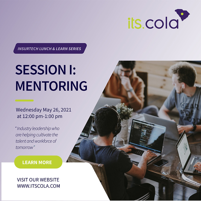"""Its.Cola """"Lunch and Learn"""" I: Mentors"""