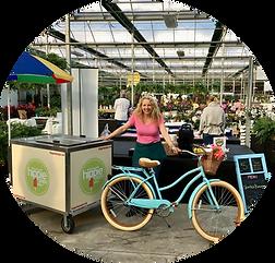 hippie pops terra winter market bicycle