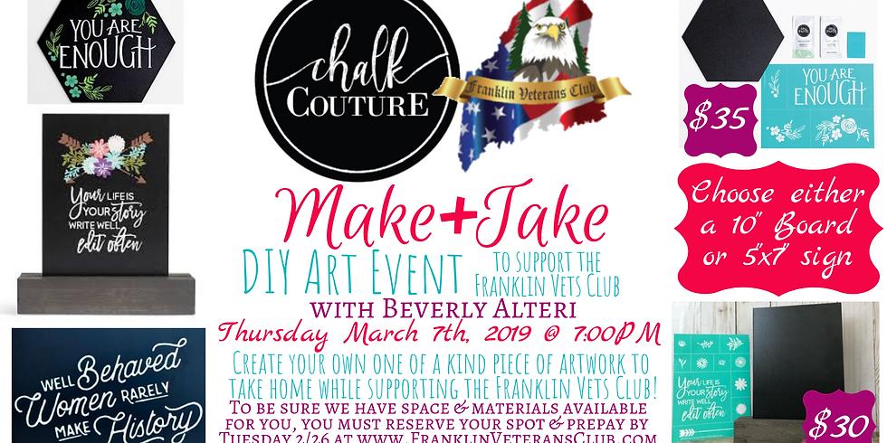Chalk Couture Make & Take Event