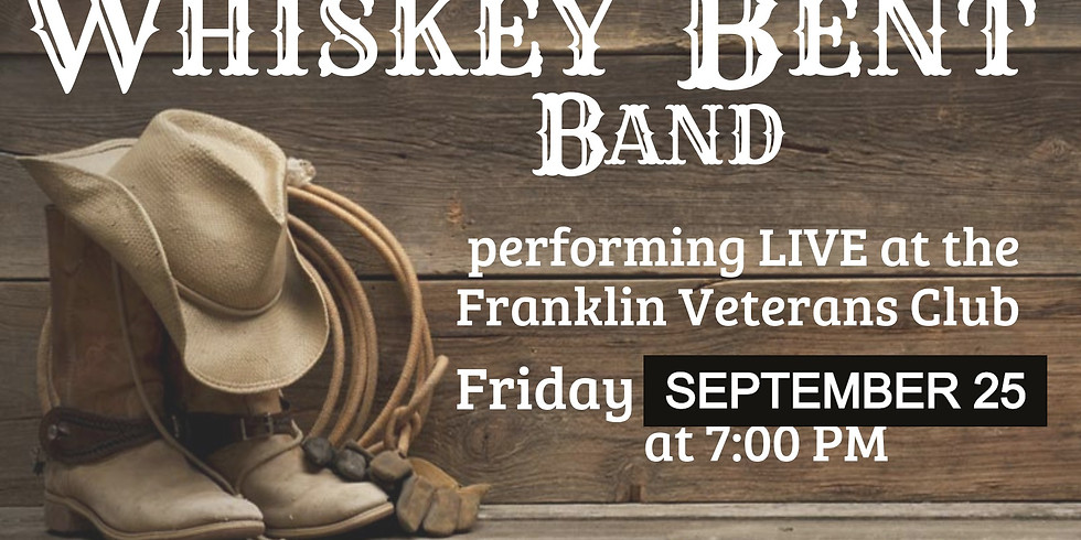 Whiskey Bent Live Band