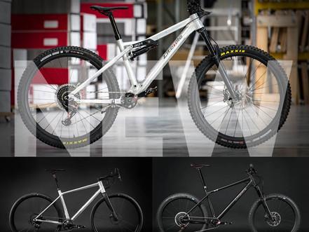 New Liteville models 301 Mk15, Gravel-Bike 4-ONE and H-3 Mk3
