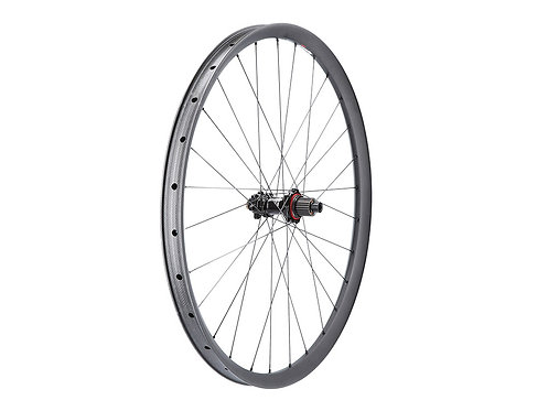 Syntace C33i SuperTorque rear wheel (carbon rim, Shimano MicroSpline)