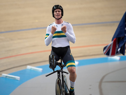 Darren Hicks claims Gold at Para-cycling Track Worlds