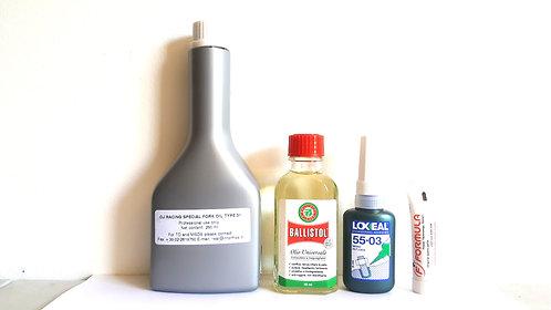 Fork lubrication kit for all Formula 33 and 35 forks