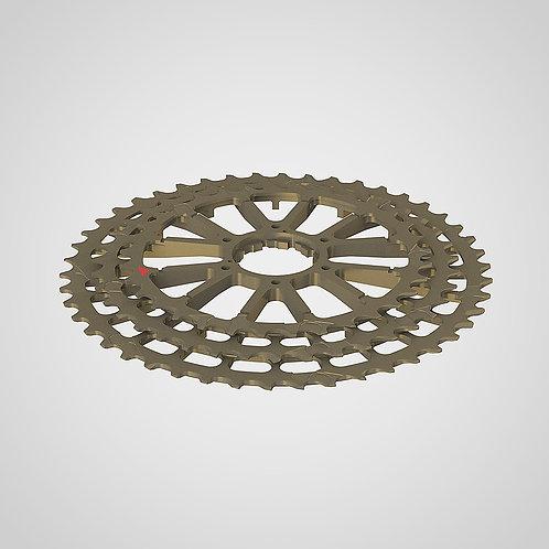 INGRID 46T10 Aluminium cogs 33-46