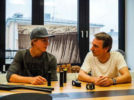 SQlab teams up with Austrian MTB and Trials star, Fabio Wibmer