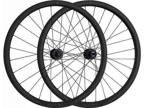 TUNE TSR35 Disc road wheelset (black hubs)
