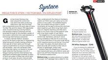 Syntace P6 Hi-Flex, Megaforce2 Stem and Vector Carbon Hi-10 bars tested by Enduro Mag