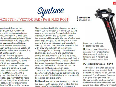 Syntace P6 Hi-Flex, Megaforce2 Stem and Vector Carbon Hi-10 bars tested by Enduro Mag