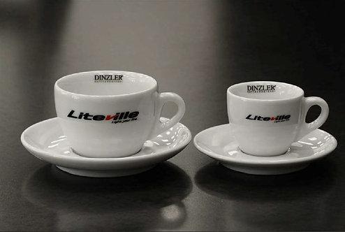 Liteville Cappucino and Espresso cups PRE-ORDER SPECIAL