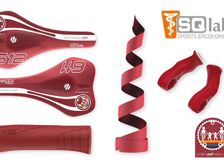 SQlab supports children in need with a Red Limited Edition range