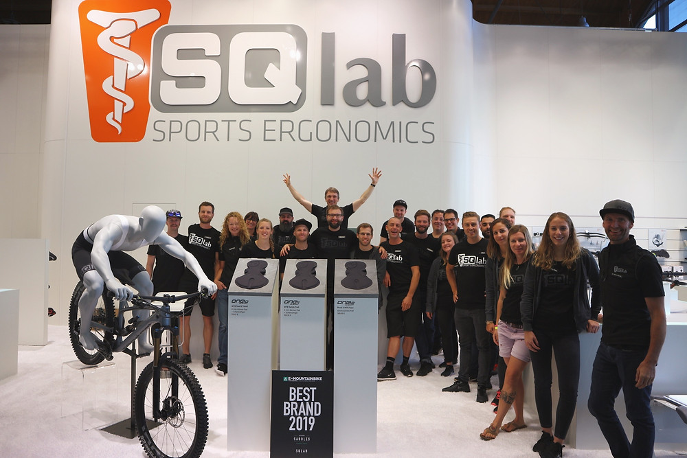 SQlab booth at Eurobike
