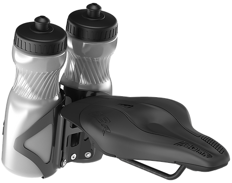 SQlab 613 R integrated bottle adapter
